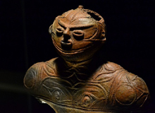 National treasure figure from the Jomon period